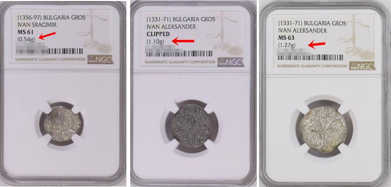 Сребърни Български монети любезно предоставени от Костадин Везьовзакупени в САЩ с намалено тегло.